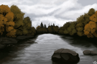 Gray morning - Animated Version by TimTaller