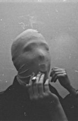 black and white (mask ) by snufftape