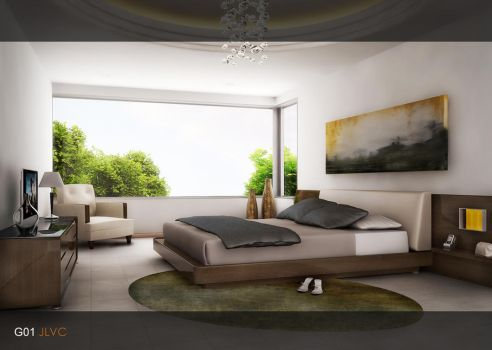 Bedroom G01 by VT-Arch