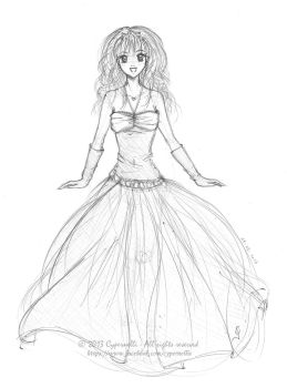 Oh! I like this dress! by Cypernelli