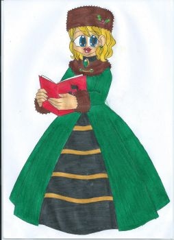 Holiday Caroler by animequeen20012003
