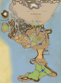 World Map Complete by Rungok