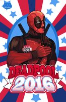 Deadpool 2016 by CatCrossing