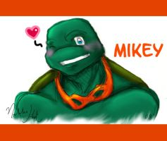 Cute and Marketable - Mikey by nichan