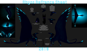 Abyss Reference sheet by SilveryStormWing