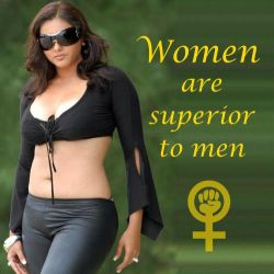 Of course women are superior to us by far by Pierrerene