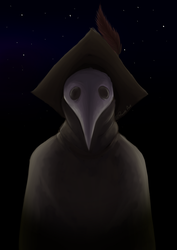 The Plague Doctor by Prouds-Art