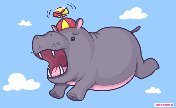 Hippos Should Not Fly by snut