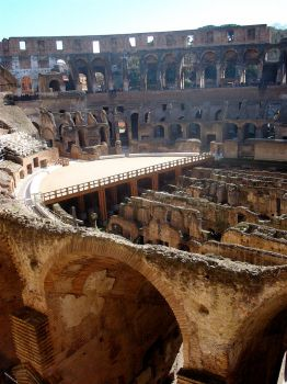Enter the Colosseum by hoohah2001