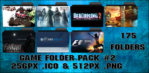 Game Folder Pack 2 175 Folders by floxx001