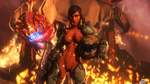 (Bday Gift) DoomGal Pharah - Sinful by Rookie425