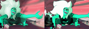 Malachite redraw by DesireeDrawings