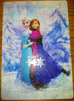 Anna and Elsa Puzzle by Kit2000andAnna