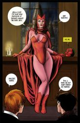 Scarlet Witch and Harry Potter by statman71