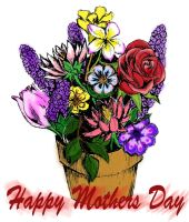 Mother's Day Flowers by MooseQuack