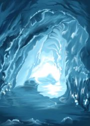 Ice Cave by Dellot