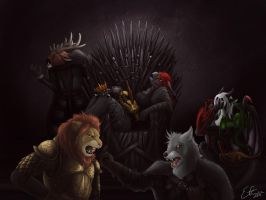 Game of Thrones (fanart) by etrii