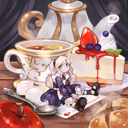 Alice's Tea Time Party by AlpacaCarlesi
