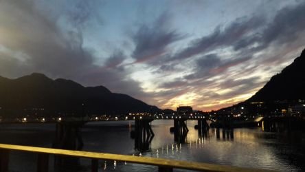 Sunset in Juneau by ToTo088