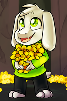 Kid Asriel by AnnaKitsun3
