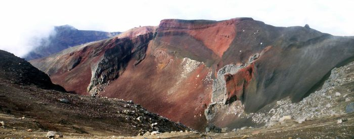 Red Crater by Smidy