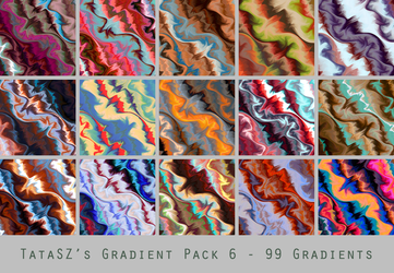 Gradient Pack 6 by tatasz