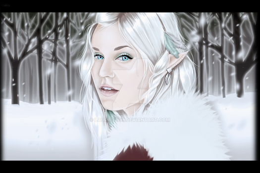 Ice Fae by LauraBach