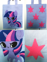 Twilight Sparkle Tote Bag by ponymonster