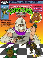 TMNT Classic Comic Homage 3 by oldmanwinters