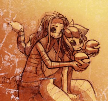 Scorpio and Cancer by TetraOrb