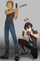 Lance and Keith by Shoshiya