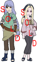 Naruto Fan Clan Adoptables Ohtori - SOLD OUT by mistressmaxwell