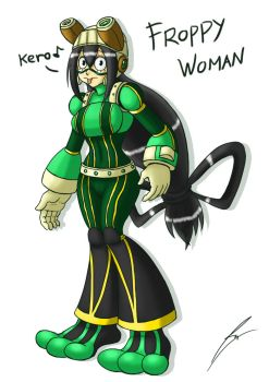 Froppy Woman by borockman