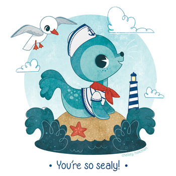 You're so sealy! by chelseyholeman