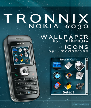 Tronnix For Nokia 6030 by ipholio