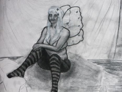 August 16, 2011 Charcoal by hEyJude4