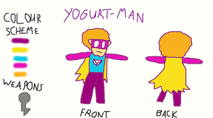 Yogurt-Man Bio by wawful