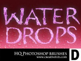HQ Water Drop PS Brushes - D by Grasycho