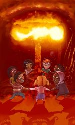 Let's do the atom bomb dance. by Fealasy
