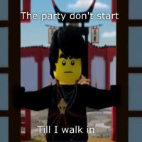 The party dont start to cole walks in by ChibiCinnamonRoll