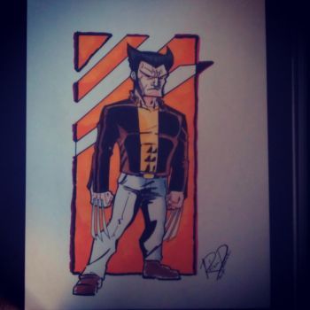 Wolverine by Moon-Toons