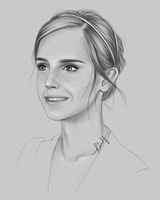 Emma sketch by kimpertinent