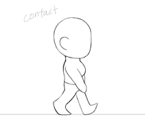 Walk Cycle (animation) by Infinity-Drawings