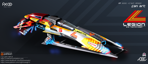Legion A.G. Racing Team colour scheme by NightmareGK13