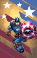 Captain America by Kid-Destructo
