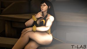 Thunder Thighs (Chun-Li) Lollipop Pic One by Tommy-TheDirtDen