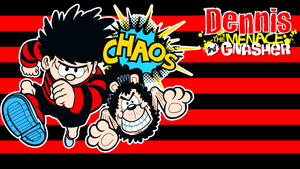 Dennis The Menace And Gnasher Wallpaper (Icon Fix) by DJ7493