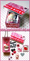 Hello Kitty Box and Necklace by wickedland