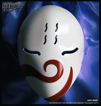 haku's mask by ksn-art