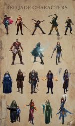 Characters for fantasy book